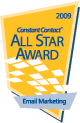 Constant Contact All Star Award - Email Marketing Excellence