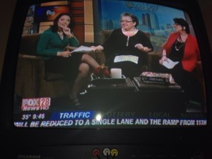 Mary B. Relotto and Barb Girson speak on Fox 28 News about women entrepreneurs and setting SMART goals in the New Year.