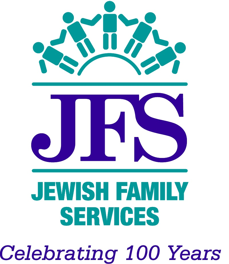 Jewish Family Services 100 Logo New