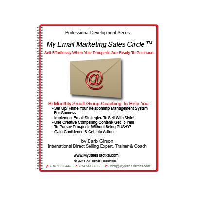 My Email Marketing Sales Circle