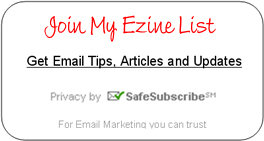 My Sales Tactics - Ezine Sign Up
