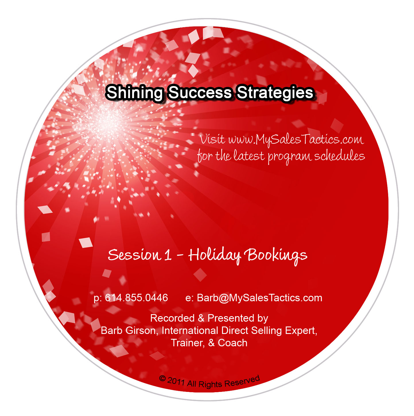 Shining Success Strategies (TM) - Session 1