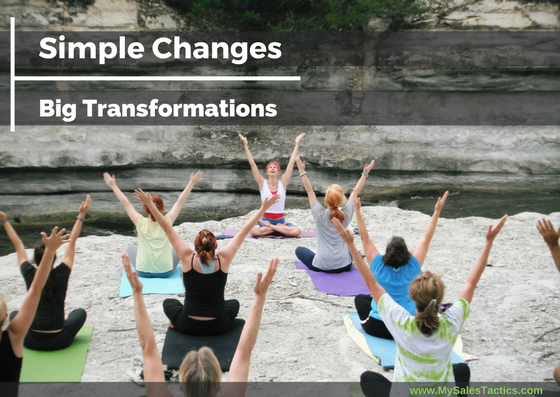 Simple Changes Big Transformations