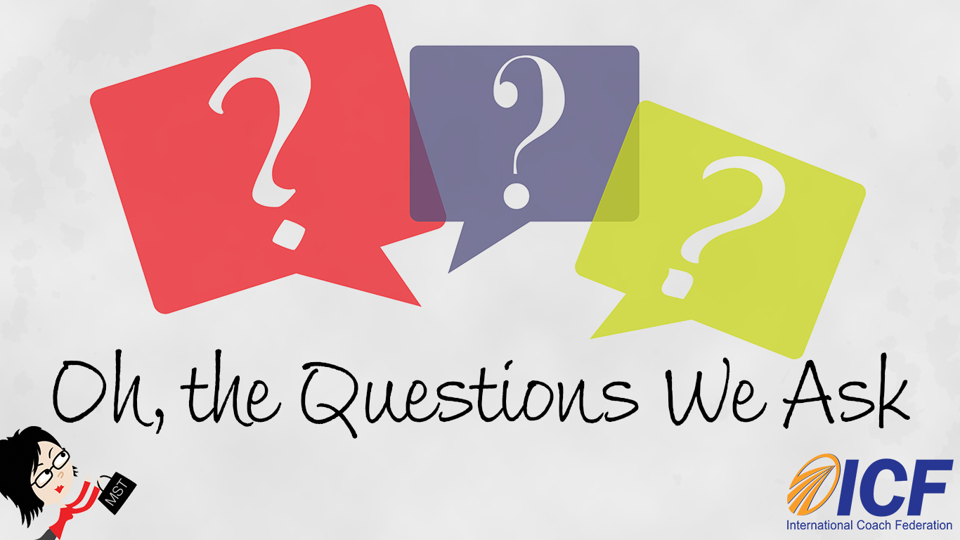Oh, the Questions We Ask by Barb Girson