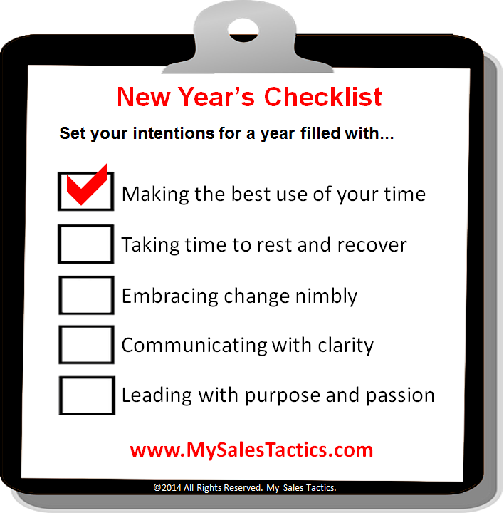 new year checklist